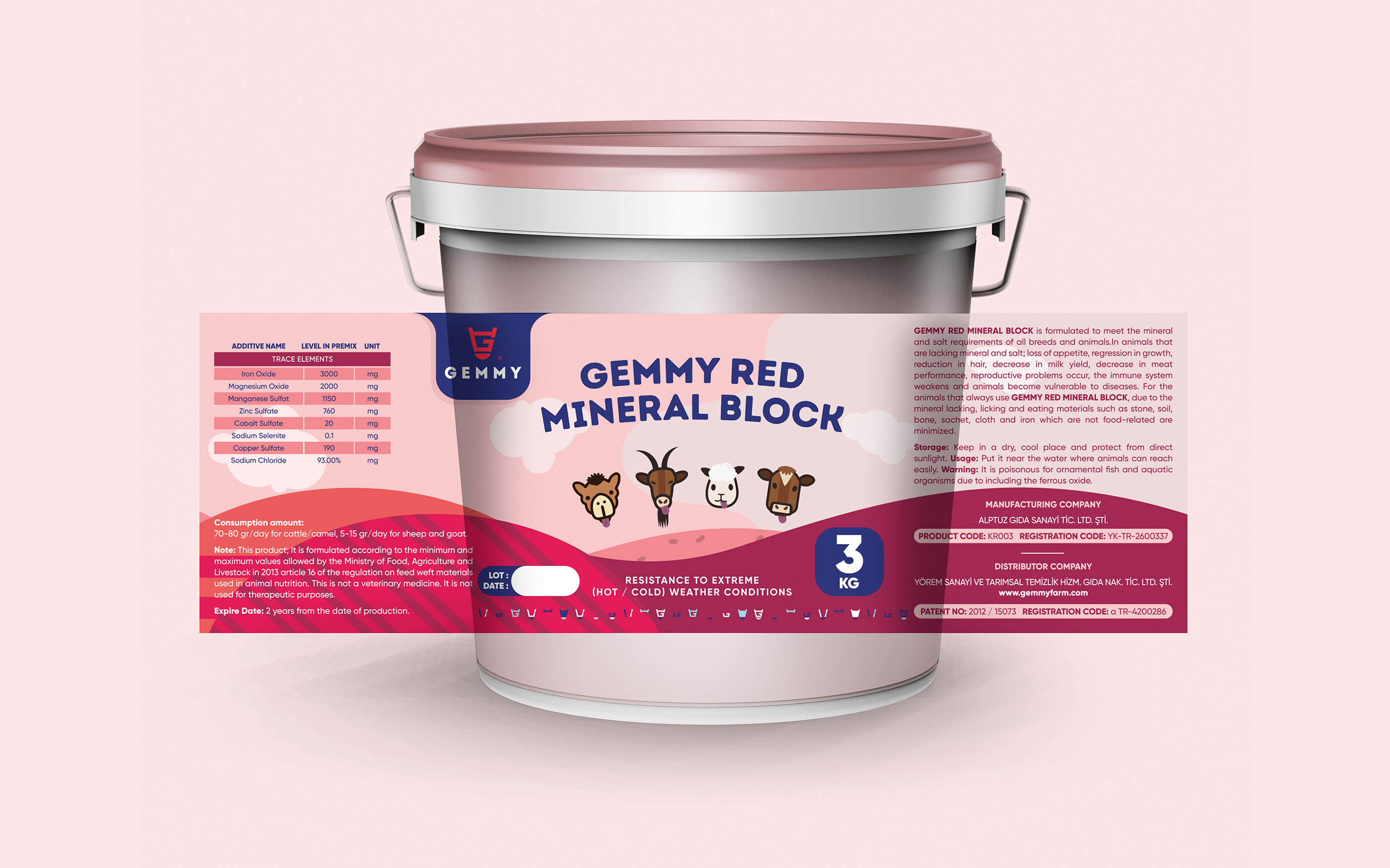 gemmy-animal-feed-red